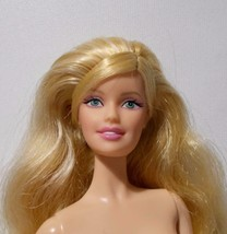 Blonde Collector Barbie Model Muse Body Smiling Face - $24.74