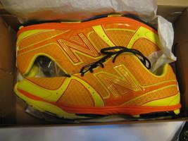 Men's New Balance M700XOS Size 9 D Medium Color:Orange w/ Yellow - $30.00