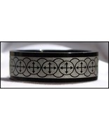 """MONTE CRISTO  Majestic Men's Stainless Steel Ring """"Mod Design"""" - Size 11 - $9.99"""