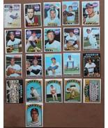 1969-72 Topps Baseball Cal Angels 21 Cards Jim Fregosi Tom EaganJim McGl... - $19.99