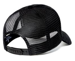 Psycho Bunny Men's Embroidered Snapback Mesh Mischief Baseball Cap Hat image 3