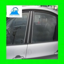 2008 2012 Ford Escape Chrome Pillar Post Trim 2009 2010 2011 08 09 10 11 12 - $23.99