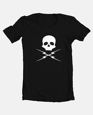 Death Proof Skull T shirt retro horror film movie 100% cotton graphic print tee