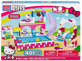 Mega Bloks Hello Kitty Splash N' Swim Water Park - $59.95