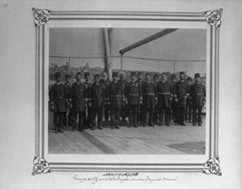 The commanders and officers of the Imperial Ironclad Frigate Osmaniye] / Cons... - $12.99