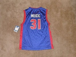 Darko Milicic, Detroit Pistons Jersey, Youth Large, Reebok, Blue, NWT - $17.99