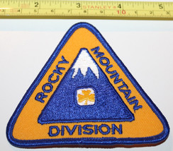 Girl Guides Rocky Mountain Division BC Canada Badge Label Patch - $8.17