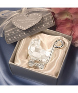 Crystal Baby Carriage Baby Shower Favors - $3.16