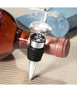 Crystal Diamond Design Wine Bottle Stoppers - $3.95