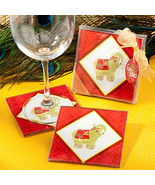 Elephant design coaster sets - $1.20