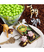 Jungle Critters  Collection keychain favors - $1.38