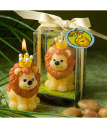 Set of 20 King of the Jungle Candle Favors Baby... - $48.00