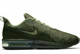 MEN'S NIKE AIR MAX SEQUENT 4 SHOES cargo khaki olive AO4485 300 - $69.49