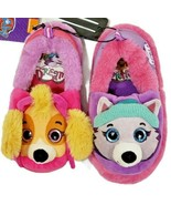 Nickelodeon Paw Patrol Slippers Skye and Everest Various Toddler Girls S... - $13.85