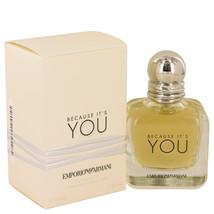 Because It`s You by Emporio Armani Eau De Parfum  1.7 oz, Women - $65.88