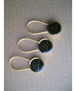 3 Lexus Gold Tone Cable Lock Keychain car dealership - $17.95