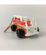 Vintage Fisher Price Little People Fire Truck Toy - $20.56
