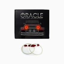 Oracle Lighting GM-DE0006F-A - GMC Denali LED Halo Fog Light Rings - Amber - $129.99