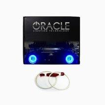 Oracle Lighting GM-SI0813F-B - GMC Sierra LED Halo Fog Light Rings - Blue - $115.98