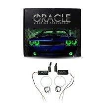 Oracle Lighting GM-SI0813CF-G - GMC Sierra CCFL Halo Fog Light Rings - Green - $117.98