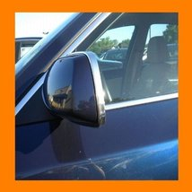 1989 1994 Plymouth Colt Chrome Mirror Trim Moldings 2 Pc 1990 1991 1992 1993 8... - $14.99