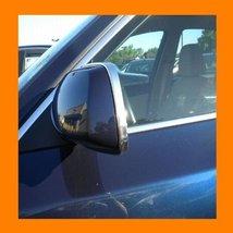 2002 2009 Chevy Chevrolet Trailblazer Chrome Mirror Trim Moldings 2 Pc 2003 20... - $14.99