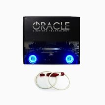 Oracle Lighting GM-DE0006F-B - GMC Denali LED Halo Fog Light Rings - Blue - $129.99