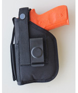 Hip Holster For SD9VE, SD40VE with Underbarrel Laser mounted on gun - $19.70