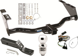 Complete Trailer Hitch Pkg W Wirin Kit For 01 03 Chrysler Town & Country/Voyager - $211.16