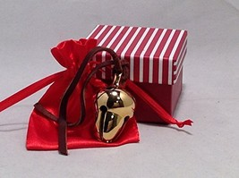 Elf Favorite Polar Double Chamber 24k Gold Plated Brass Sleigh Bell From... - $246.51