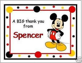 Cute Mickey Mouse Note/Thank You Cards - $10.39