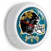 Jacksonville Jaguars Nfl Football Team Logo Wall Clock Man Cave Boys Room Room - $21.05