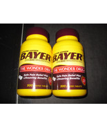 Bayer Aspirin Pain Reliever 2-500 coated tablet... - $36.02