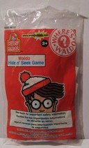 Wendys Kids Meal Waldo Hide n Seek Game 2010 - $13.99