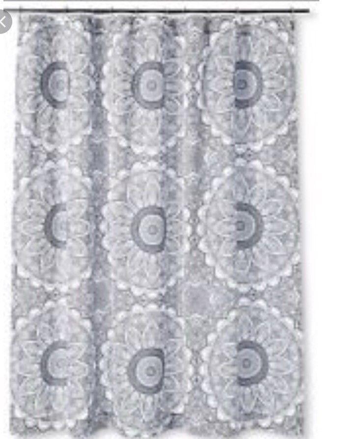 S L1600 MUDHUT Shower Curtain