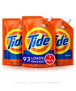 Tide Liquid Laundry Detergent Smart Pouch, Original Scent, 48oz (3 Pack) - €21,26 EUR