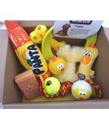 YELLOW DOG TOYS X 10 TOYS SUITABLE FOR SML-MED DOGS AND PUPPIES OVER 4 M... - $24.38