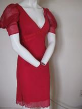 Betsey Johnson 6 Red Knit Dress - $105.00