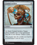 Magic The Gathering-Khans of Tarkir-Cranial Archive  - $0.15