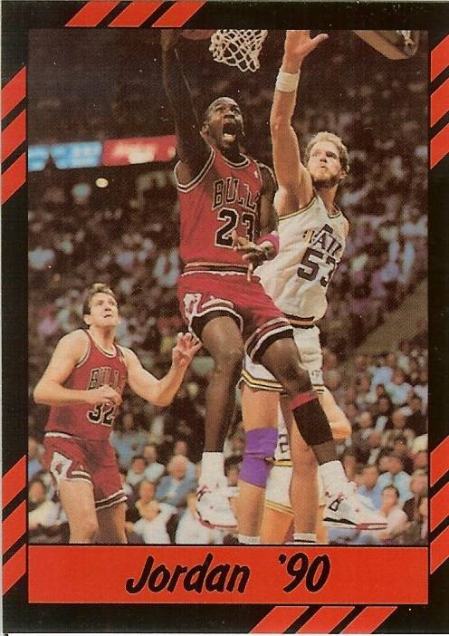 Primary image for 1990 michael jordan promo card chicago bulls basketball rare