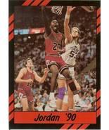 1990 michael jordan promo card chicago bulls basketball rare - $9.99