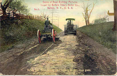 Primary image for Buffalo Steam Roller Company 1913 vintage Post Card