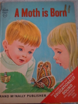 Rand McNally Big Edition A Moth Is Born Elf Book by Herbert Walker - $6.99
