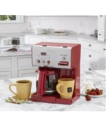 Programmable 12 Cup Coffee Maker Red Self Clean... - $148.49