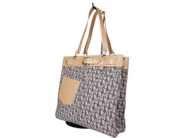 Auth Christian Dior Trotter Pattern Canvas Browns Shoulder Bag DS0070 - $359.00