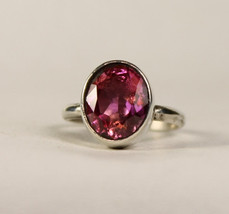 Sterling Silver Pink Cubic Zirconia Ring,   265 - $39.99