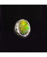 Sterling Silver Ammolite Ring,    297 - $189.00