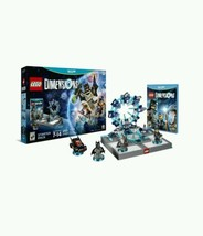 LEGO Dimensions Starter Pack Nintendo Wii U Gift Comics Toy Pad Vehicle ... - $128.74