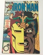 Iron Man Comic Book Marvel Vol 1 No. 195 June 1985 Shaman VG - $10.00