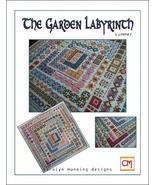 The Garden Labyrinth Summer cross stitch chart CM Designs - $8.10